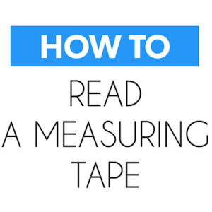 How To Read Measurnig Tape