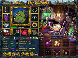 Screenshot of Shakes and Fidget