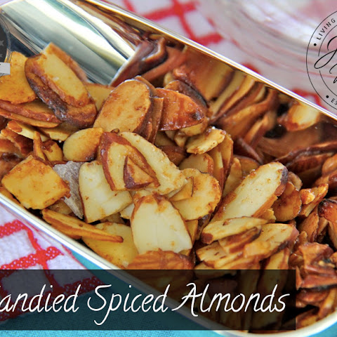 Candied Spiced Almonds