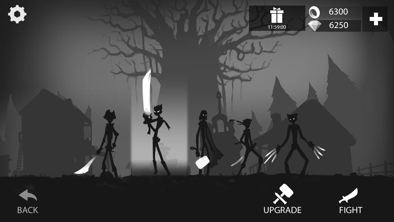 Stickman Run: Shadow Adventure Screenshot 1