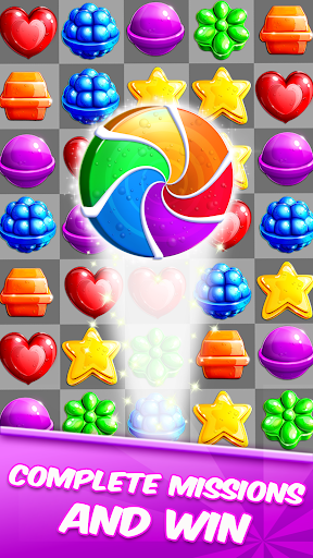 Lollipop Crush Match 3 screenshot 4