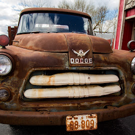 by Dougetta Nuneviller - Transportation Automobiles ( ride, clunker, car, old, patina, junker, vintage, automobile, vehicle, rust, grime, abandoned )