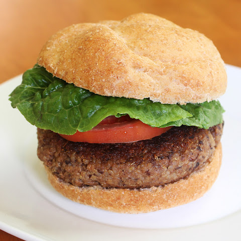 Smoky Hickory Quinoa and Black Bean Burgers