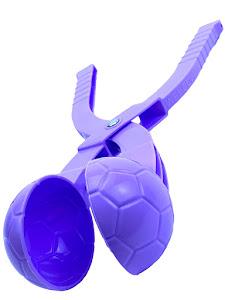 """Форма для лепки снега серии """"Город Игр"""", мяч L, фиолетовый"""