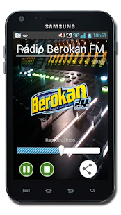 Rádio Berokan FM - screenshot