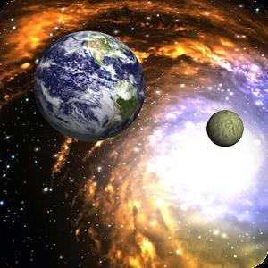 Cover art 3D Galaxy Live Wallpaper Full