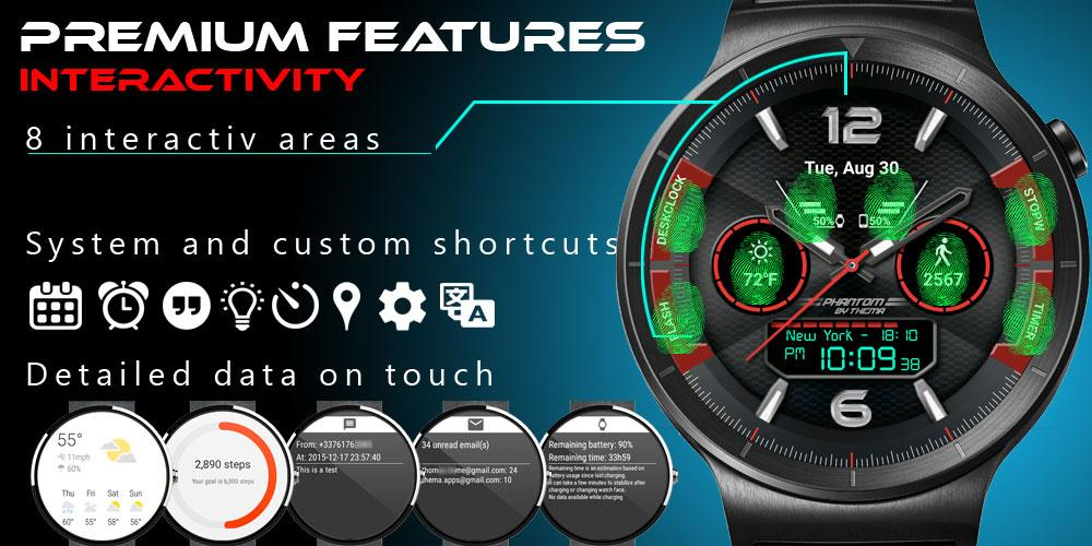 Phantom Watch Face Screenshot 2