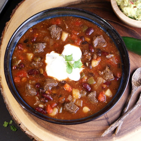 Veggies and Venison Chili