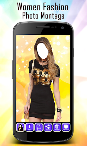 android Women Fashion Photo Montage Screenshot 2