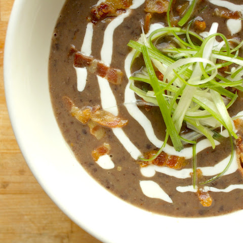 Bacon and Black Bean Soup
