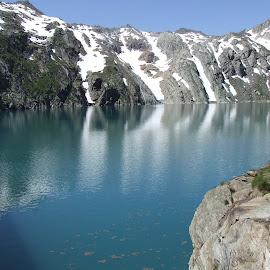 by Serguei Ouklonski - Landscapes Mountains & Hills ( water, sky, ticino, mountain, season, outdoors, snow )