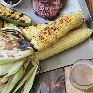 Beer Soaked Corn on the Cob