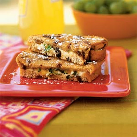 Cooking Light's Grilled Goat Cheese Sandwiches with Fig and Honey