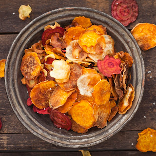 Baked Summer Squash Chips Recipes
