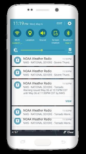 NOAA Weather Radio - screenshot