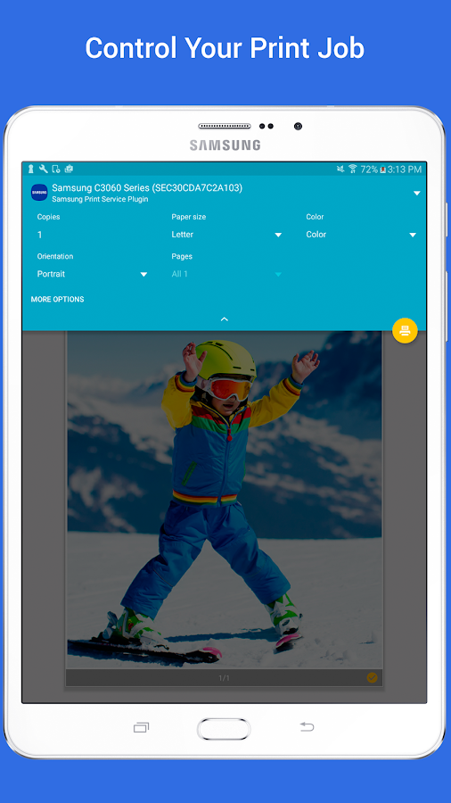 Samsung Print Service Plugin Screenshot 5
