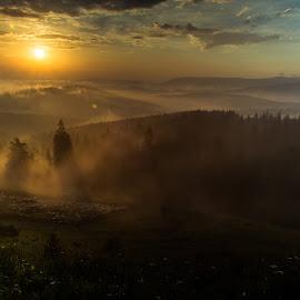 Morning light... by Florin  Galan - Landscapes Travel ( nature, sunrise, travel, morning, bucovina, landscape, light,  )