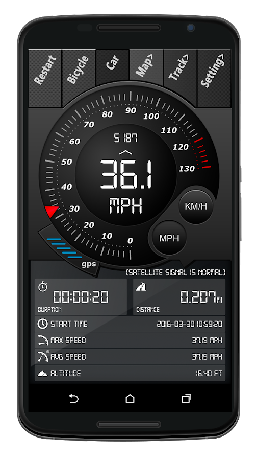 Digital Dashboard GPS Pro Screenshot 1