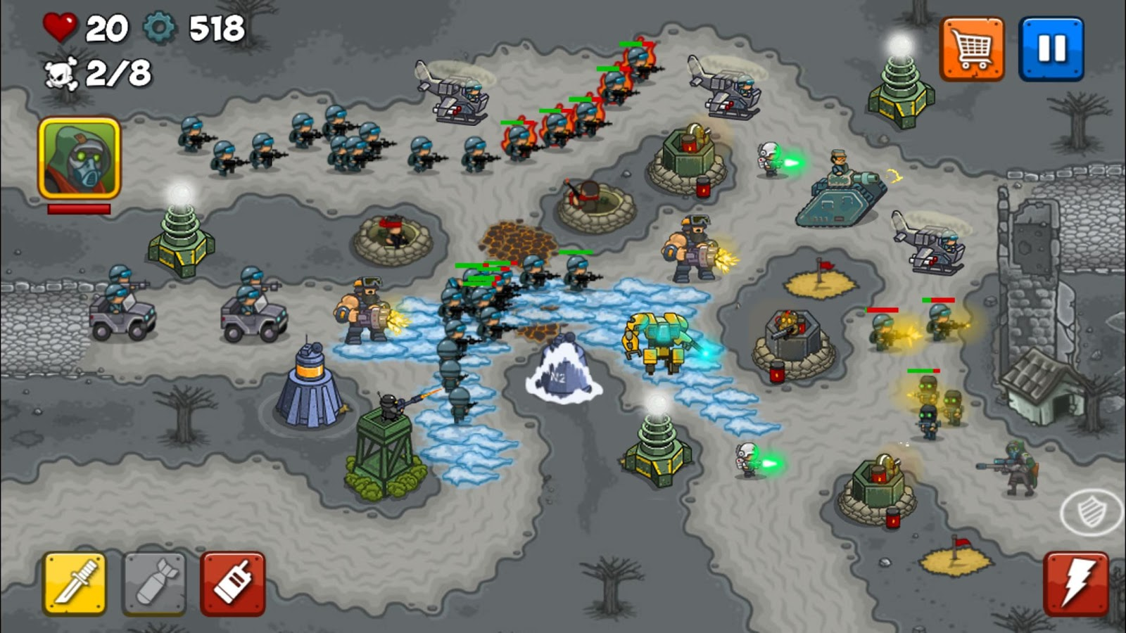 Combat Tower Defense Screenshot 3