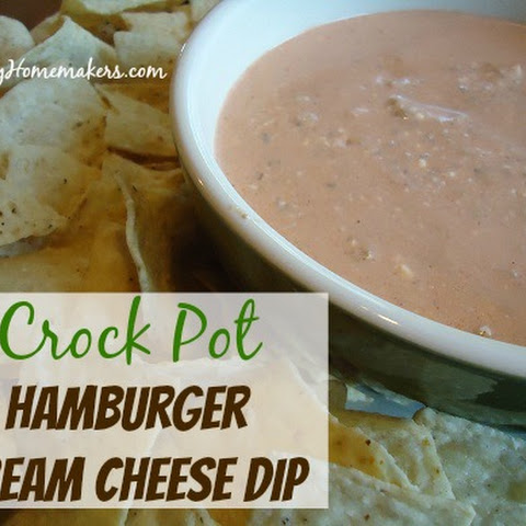 Hamburger Cream Cheese DipYum