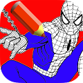 Game superhero coloring book APK for Windows Phone