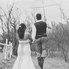 Windy day by Lodewyk W Goosen (LWG Photo) - Wedding Bride & Groom ( wedding photography, wedding photographers, wedding day, weddings, wedding, bride and groom, wedding photographer, bride, groom, bride groom )
