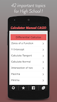 Screenshot of Calculator Manual CASIO PRO