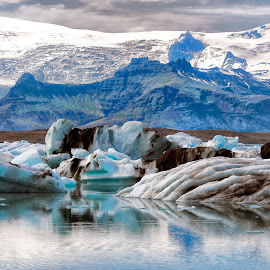 ice and snow by Stanley P. - Landscapes Caves & Formations ( ice, snow, formations, waterscapes, landscapes )