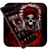App Blood Hell Skull Launcher APK for Kindle