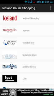 Iceland Online Shopping - screenshot