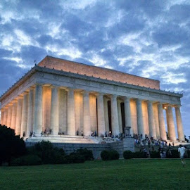 by Sarah Brown - Buildings & Architecture Statues & Monuments ( #history, #monuments, #familyvacation, #lincolnmemorial, #washingtondc, #progressivepresidents )