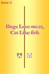 Cat Eat Fish - Dog Love Meat - screenshot
