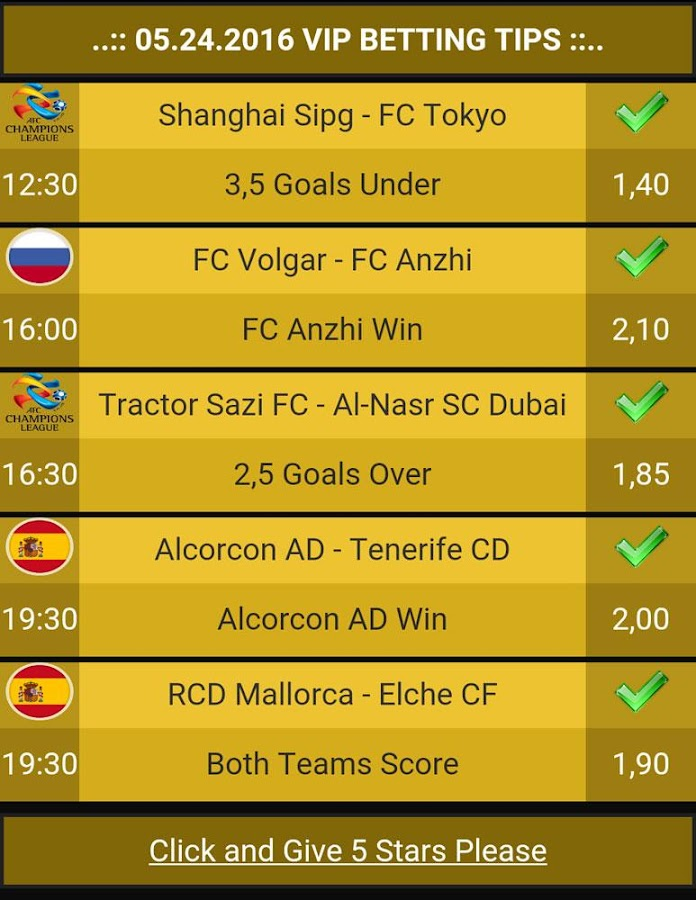 Betting Tips VIP Screenshot 3