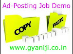 Copy & paste Easy money making job. Earn daily Rs 500/- per day.