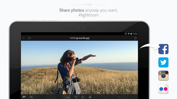 Adobe Photoshop Lightroom screenshot