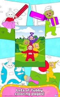 App Teletubbies Paint Sparkles APK For Windows Phone