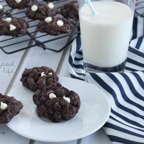Flourless Triple Chocolate Cookies – Gluten Free Cookbook review/recipe