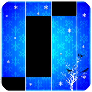 Piano music : white tiles 4 the new one  ❄️🎹❄️ 1.0 Icon