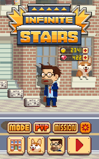 APK Game Infinite Stairs for BB, BlackBerry