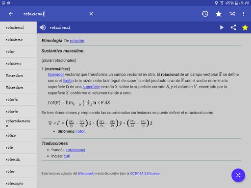 Spanish Dictionary - Offline screenshot 10
