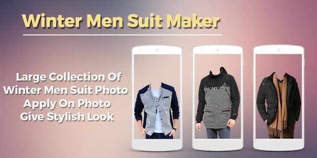 Winter Men Suit Maker