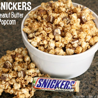 SNICKERS? PEANUT BUTTER POPCORN