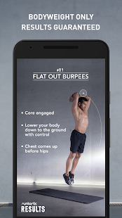Runtastic Results Workouts Screenshot