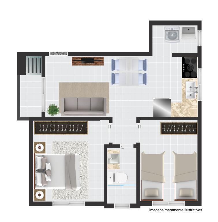 Apartamento Joinville Aventureiro 1991934