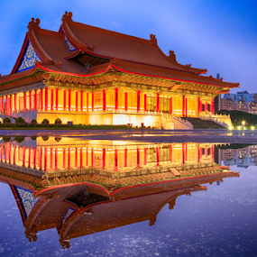 Chang Kai Shek Memorial by Stephan Guenot - Buildings & Architecture Statues & Monuments