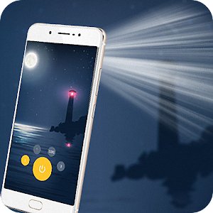 Beauty FlashLight turns your phone into a strong flashlight when needed APK Icon