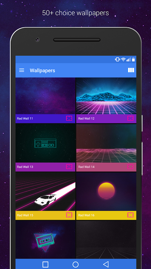 Rad Pack Pro - 80's Theme Screenshot 3