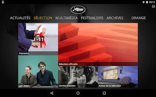 Screenshot of Festival de Cannes 2015