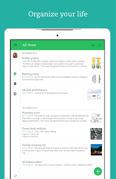 Evernote APK screenshot thumbnail 12
