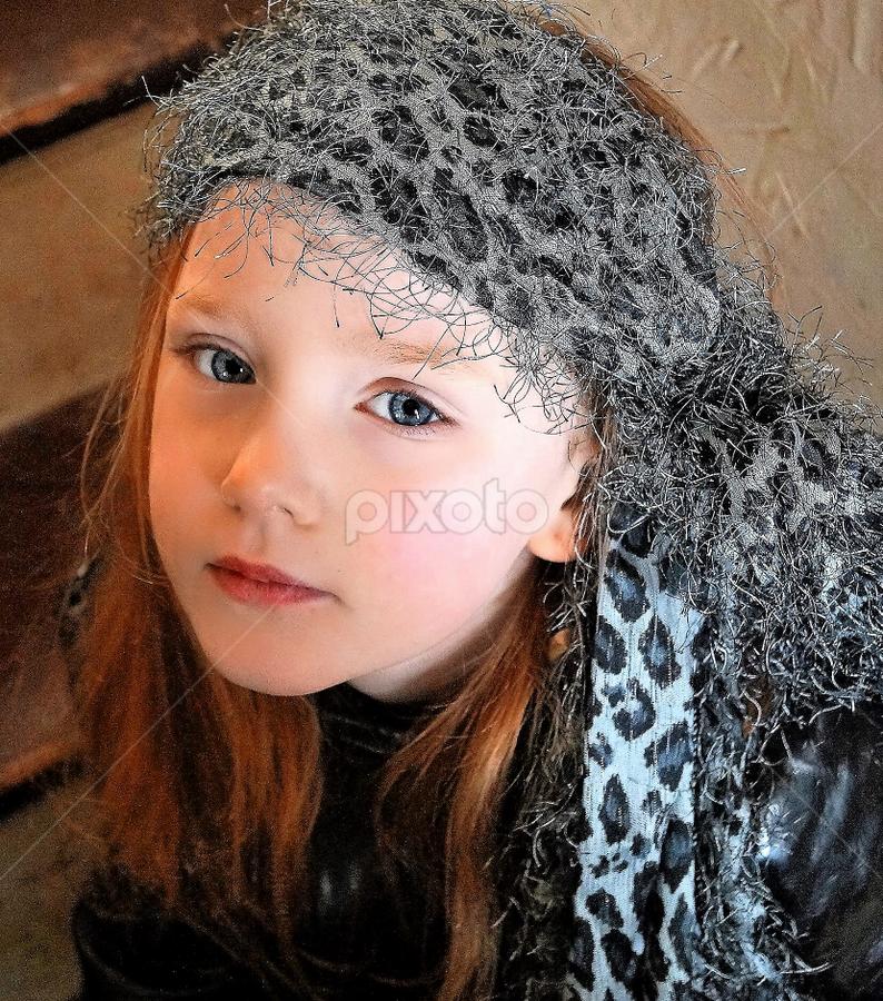 Hippie Chick by Cheryl Korotky - Babies & Children Child Portraits